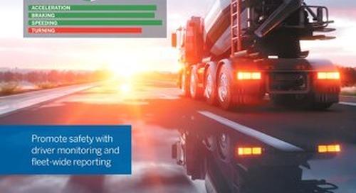 Trimble Driver Safety for Ready Mix and Bulk Materials Trucks Datasheet - English