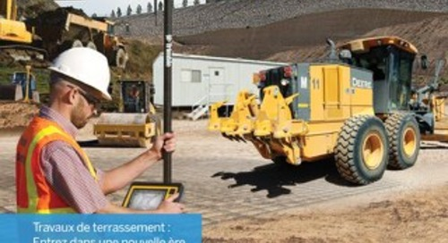 Trimble Earthworks Solutions Brochure - French