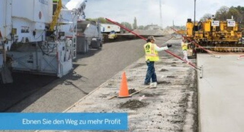 Trimble Paving Solutions Brochure - German