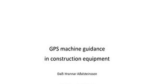 Productivity Report GPS For Excavators 2008 White Paper - English