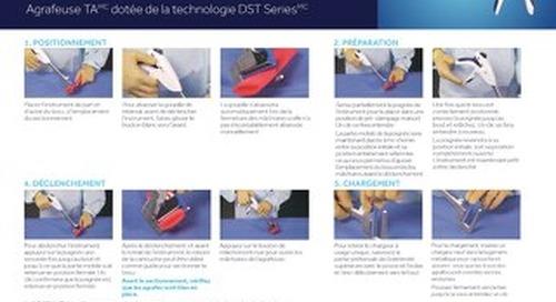 GUIDE DE MISE EN SERVICE - Agrafeuse TA dotée de la technologie DST Series