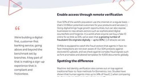 Datasheet: Hybrid Digital Identity Verification