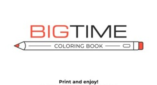 BigTime Coloring Book