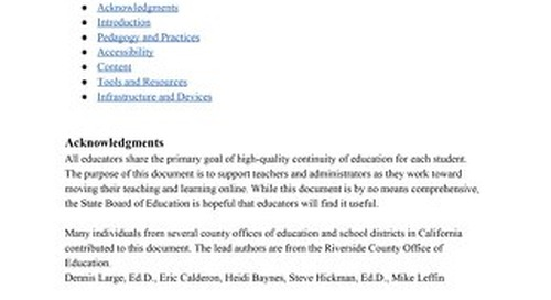 SBE Remote Learning Guidance Document