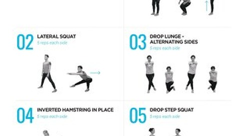 5-minute stay active workout