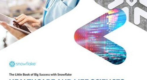 Little Book of Big Success With Snowflake: The Healthcare Edition