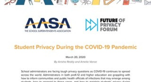 COVID-19 Student Privacy FAQs 03-20-2020