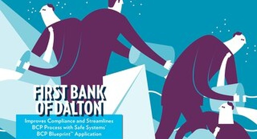 First Bank of Dalton - Compliance and BCP Processes