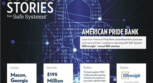 American Pride Bank Benefits From Virtual ISO Service