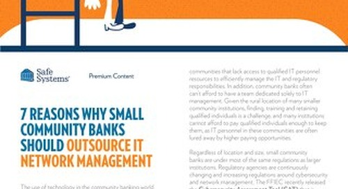 7 Reasons Why To Outsource IT Network Management