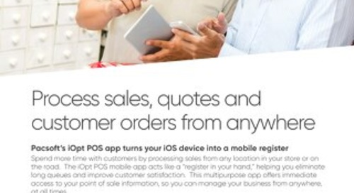 Pacsoft iOpt Mobile POS Solution Brief