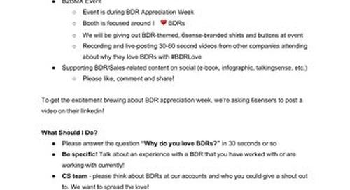 6sense Sample Social Sheet