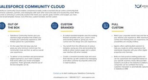 3 Types of Salesforce Communities