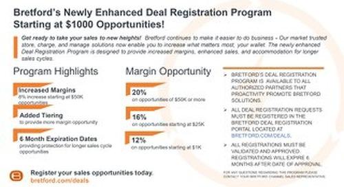 Bretford Deal Registration Program