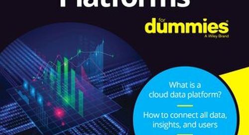 Cloud Data Platform for Dummies
