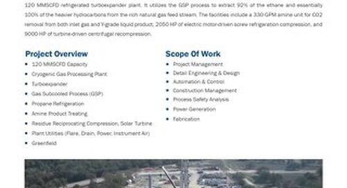 Chisholm Cryogenic Gas Plant
