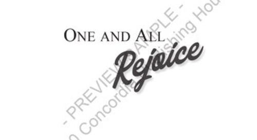 One and All Rejoice Preview Pages