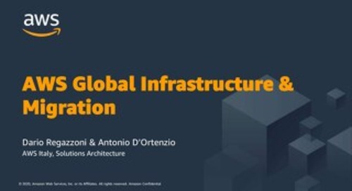 Migrazione al cloud AWS - Slides