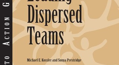 Leading Dispersed Teams Guidebook - Center for Creative Leadership