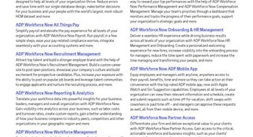 How ADP Workforce Now Can Work for You