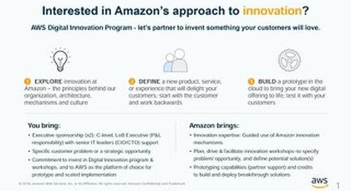 Digital Innovation Program - Slides