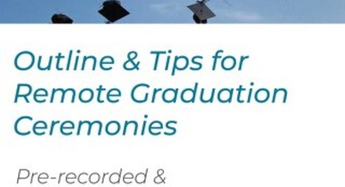 Unbranded Virtual Graduation Ceremony Template
