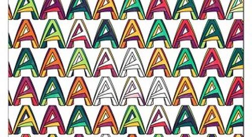 「青」写真をカラフルに: AutoCAD 大人のぬりえ