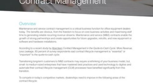 UK - 4 Steps to Better Contract Management