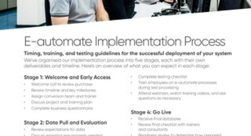 UK - Implementation Process