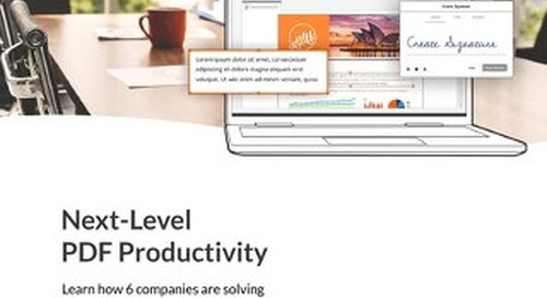 Nitro Next Level PDF Productivity