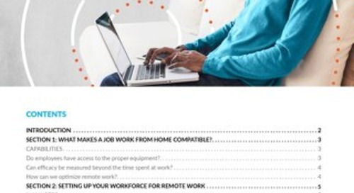 Enabling Your Business for Remote Work
