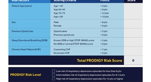 Guide: PRODIGY Risk Assessment Tool Interactive PDF