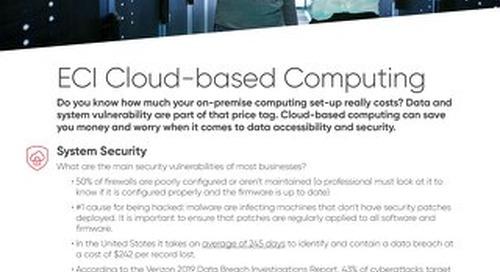 Cloud Factsheet