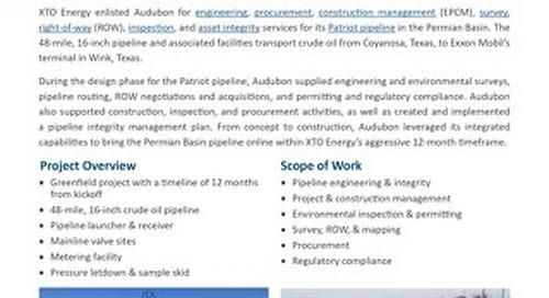 Patriot Pipeline - Project Profile