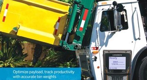 Trimble LOADRITE E2750 Refuse Truck Scales Brochure - English
