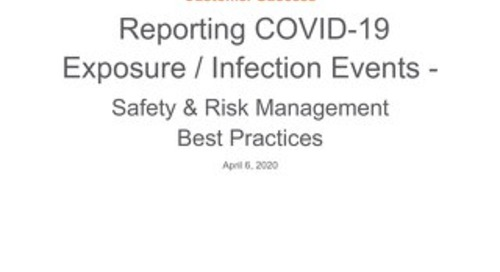 SRM: Reporting Cases of COVID-19