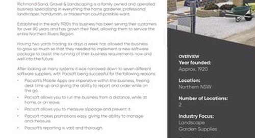 Richmond Sand Pacsoft Customer Success Story