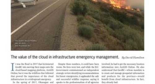 Cloud Storage: The value of the cloud in infrastructure emergency management