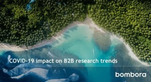 COVID-19 impact on business research trends - April 2020