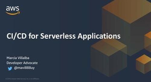 CI/CD for Serverless Applications_AWS DevDay Online April 2020