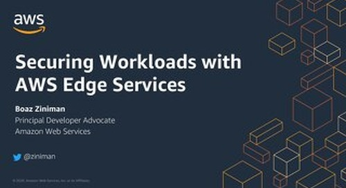 Security Application security with AWS Edge Services_AWS DevDay Nordics_April2020