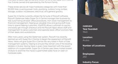 Super Do it Centre Pacsoft Customer Success Story