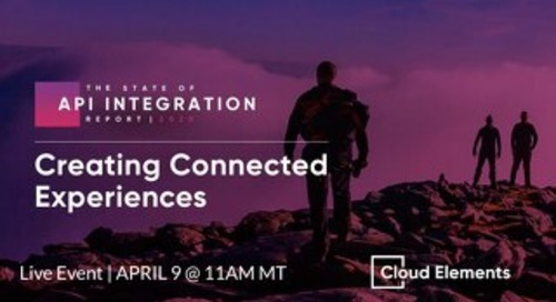 [Slides]: 2020 State of API Integration Live Event