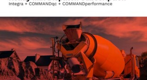 Ready Mix Enterprise Bundle - Integra, COMMANDqc, & COMMANDperformance