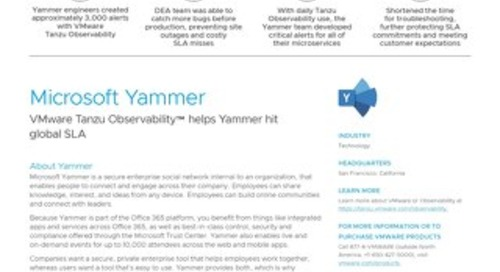 Case Study: Yammer