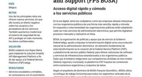 Federal Public Service Policy and Support (FPS BOSA)