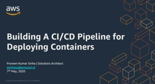 Containers May 7th: CICD for Containers