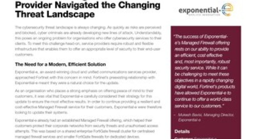 How One Managed Service Provider Navigated the Changing Threat Landscape