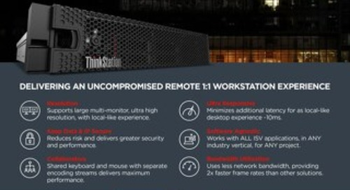 Remote Workstation Solutions with Lenovo