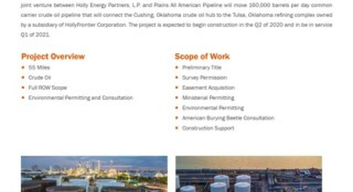 Cushing Connect Pipeline & Terminal